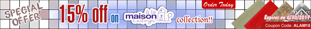 15% off on A La Maison Collections